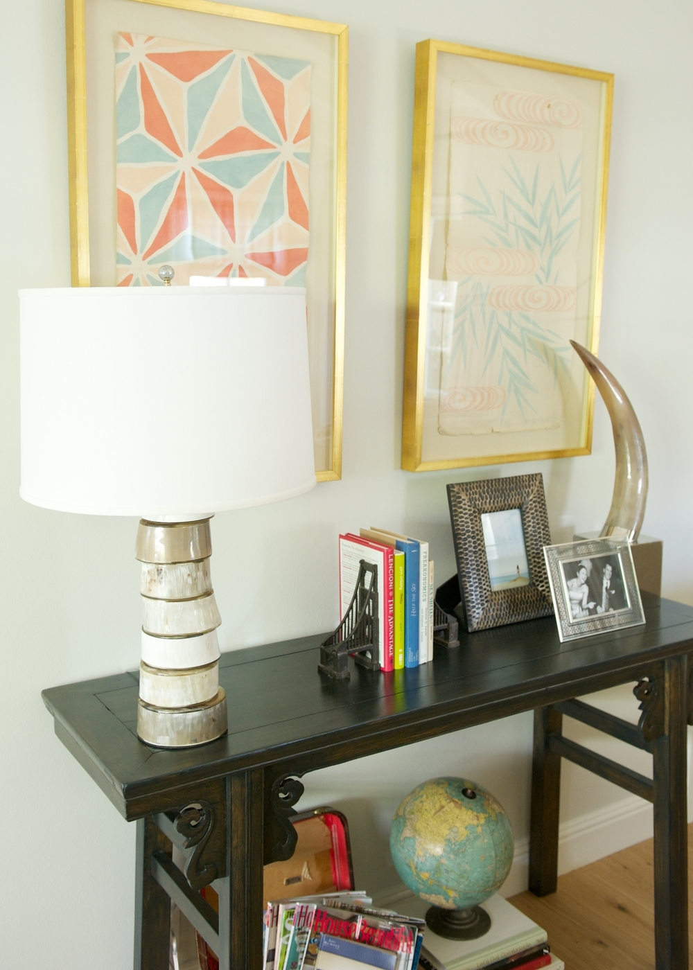 bone lamp