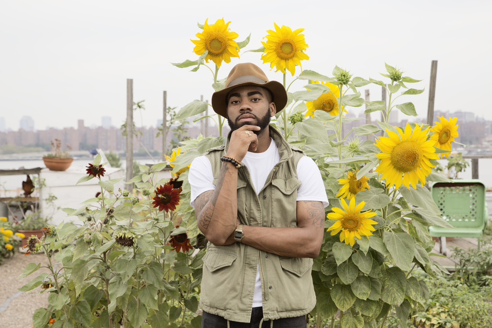 Andre, Eagle Street Rooftop Farm, 2013