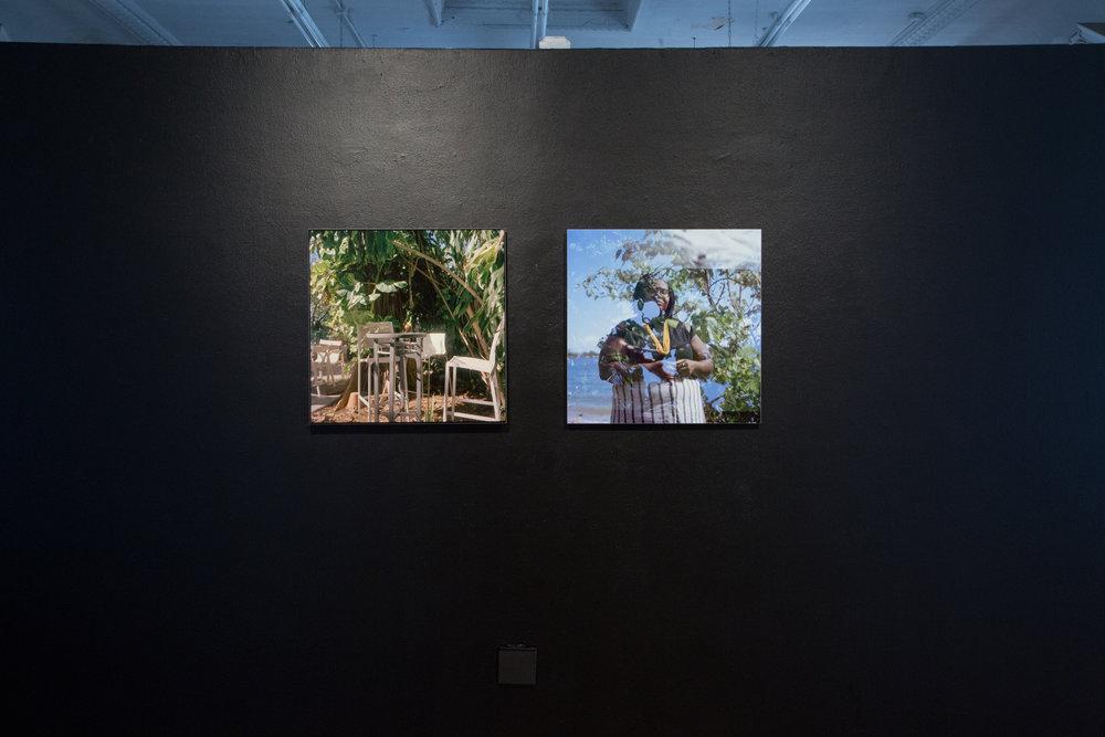 Earth N' Us Chairs (L) Michelle Lisa (R), 2018