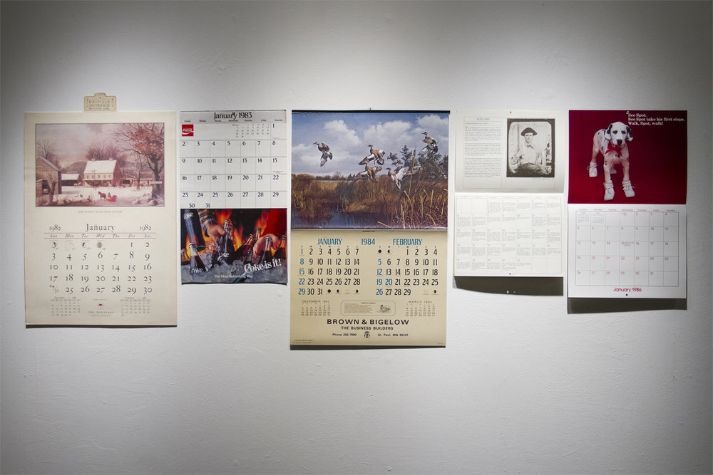 Untitled  (Calendars 1982-1986)
