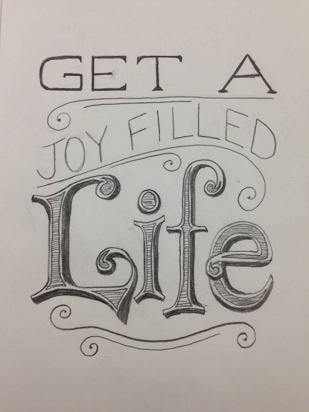 Hand Drawn Text | Pencil