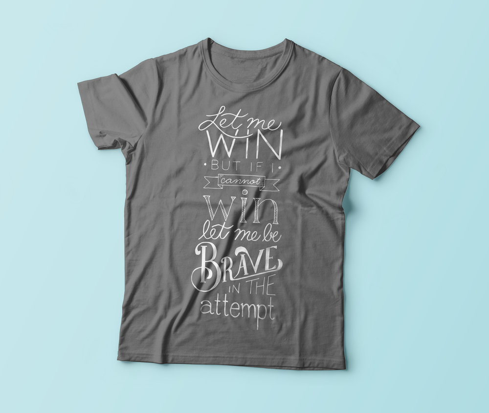Handdrawn T-shirt Design | Mobile Area Special Olympics