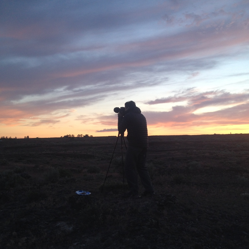I shot this pic of Ernesto capturing the last bit of light of a spectacular sunset on our first venture to the Columbia National Wildlife Refuge. This was the trip that really wet our appetite for adventuring and overlanding.