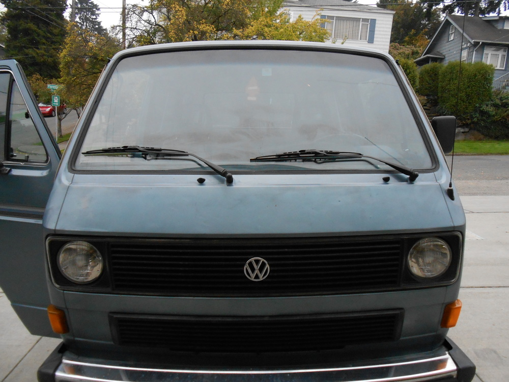 Vanagon Window Trim Removal 6