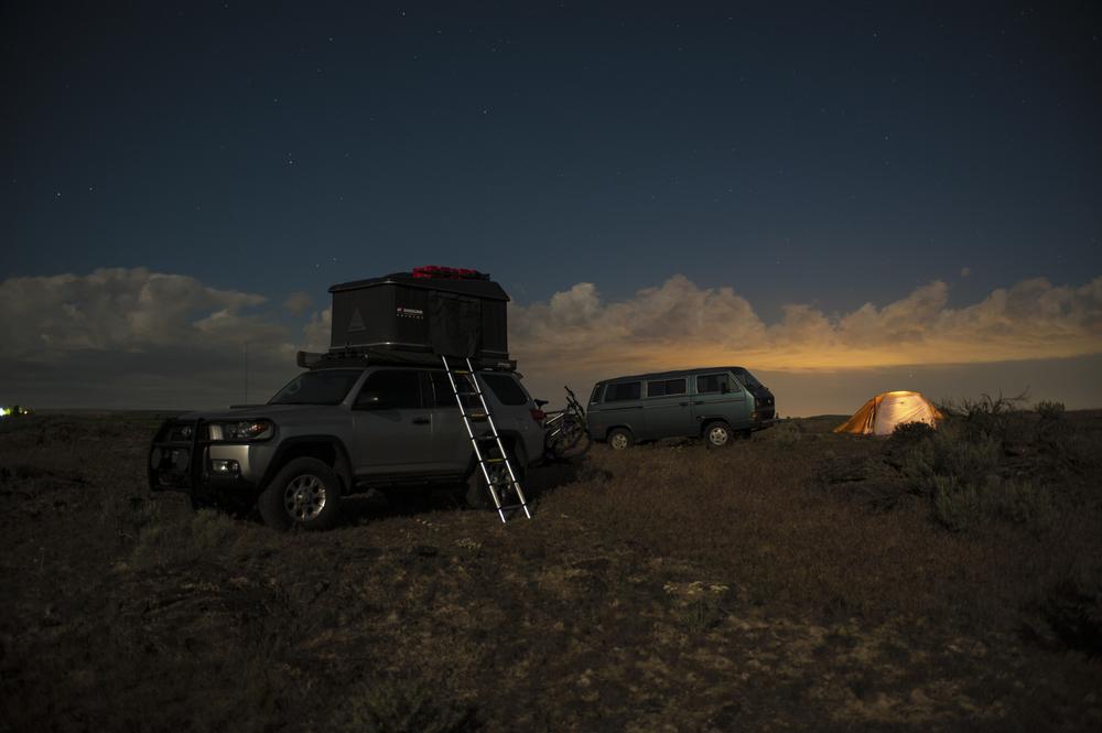 Taken around 3:30am after finally getting unstuck. Photo Credit: Ernesto Lopez-Perez,  Overland the Americas