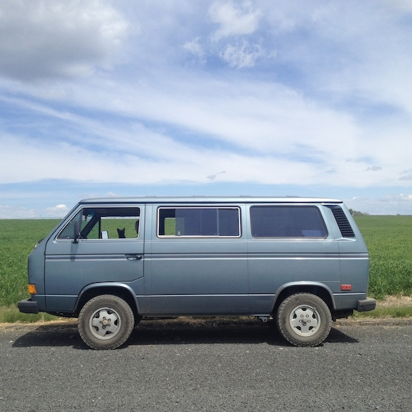 The new General Grabber AT2s certainly changed the look of the van. But more importantly, they exponentially expanded the horizon in terms of where we could go. Do not be discouraged if you don't have a 4x4/4WD vehicle - all you need is to pick a good line, some clearance, and knobby tires.