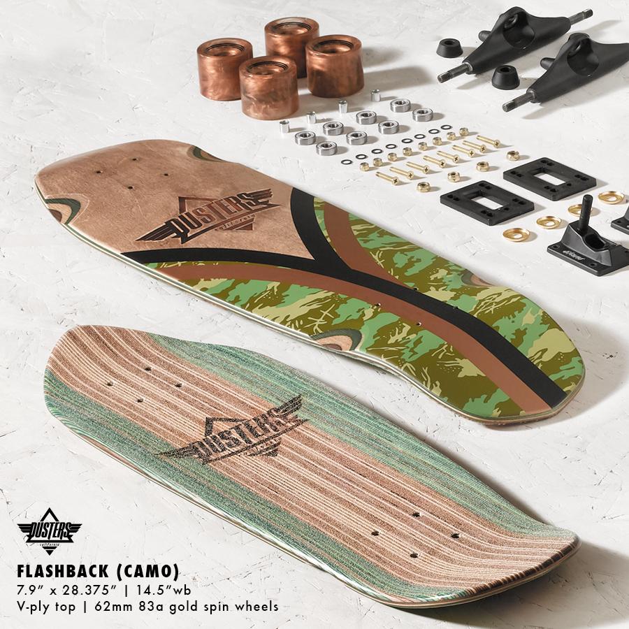 DUSTERS California Flashback Cruiser Skateboard