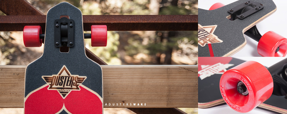 Dusters California | Wake Kryptonics Red  Longboard