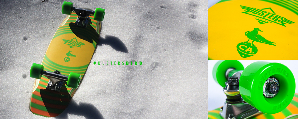 Dusters California | Bird Kryptonics Green featuring Startrac wheels