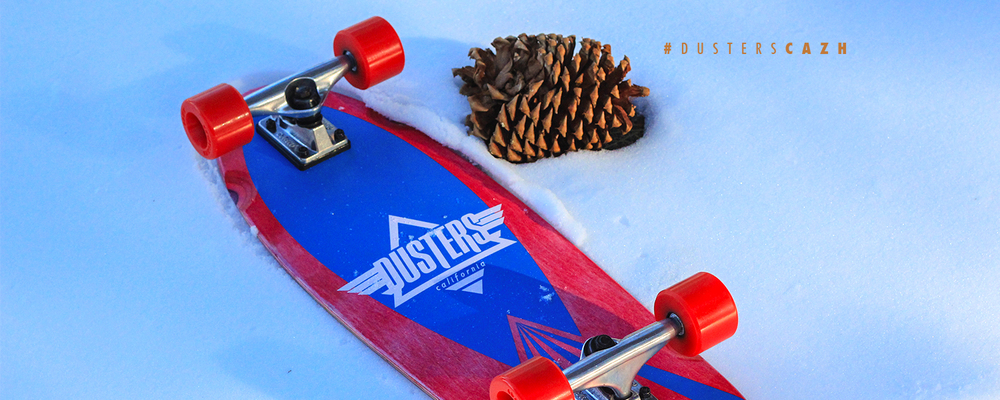 Dusters California | Cazh Kryptonics Red Cruiser Skateboard