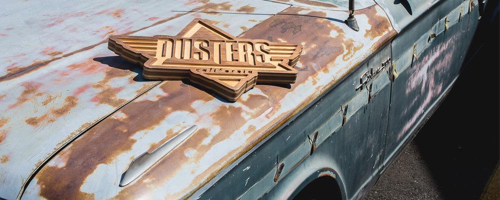 Dusters California Spring 2017 Longboard Skateboard skate cruiser logo