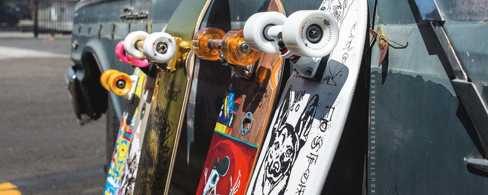 Dusters California Spring 2017 Longboard Skateboard skate cruiser locos series