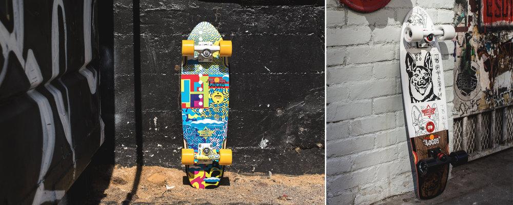 Dusters California Spring 2017 Longboard Skateboard skate cruiser van hammersveld