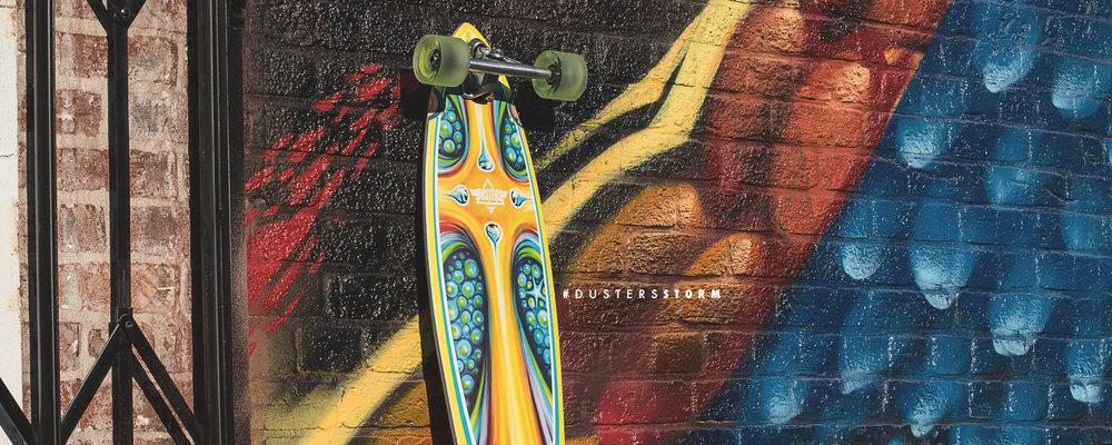 Dusters California Spring 2017 Longboard Skateboard skate cruiser storm