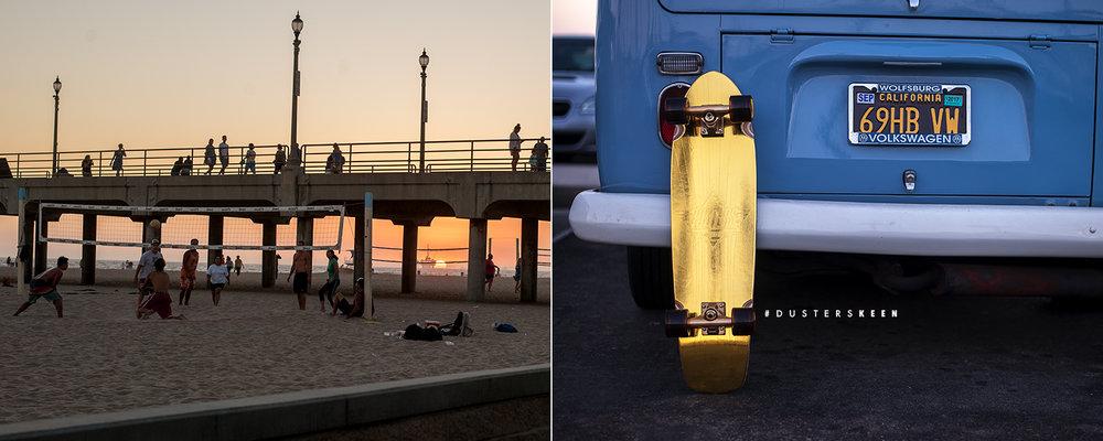 Dusters California Spring 2017 Longboard Skateboard skate cruiser keen gold
