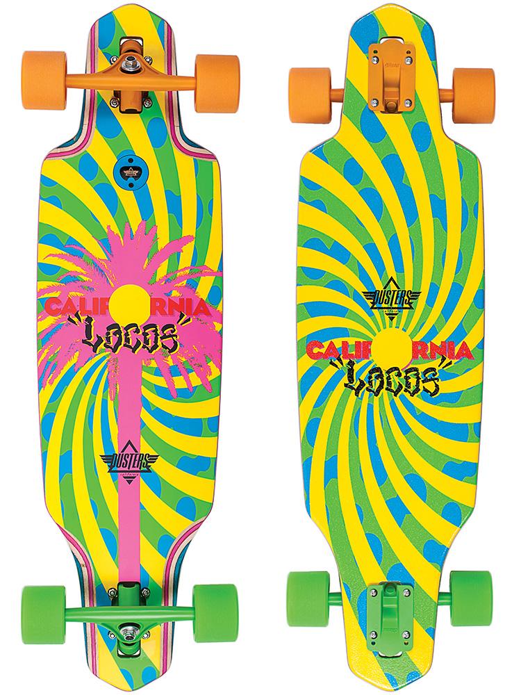 CA Locos Longboard