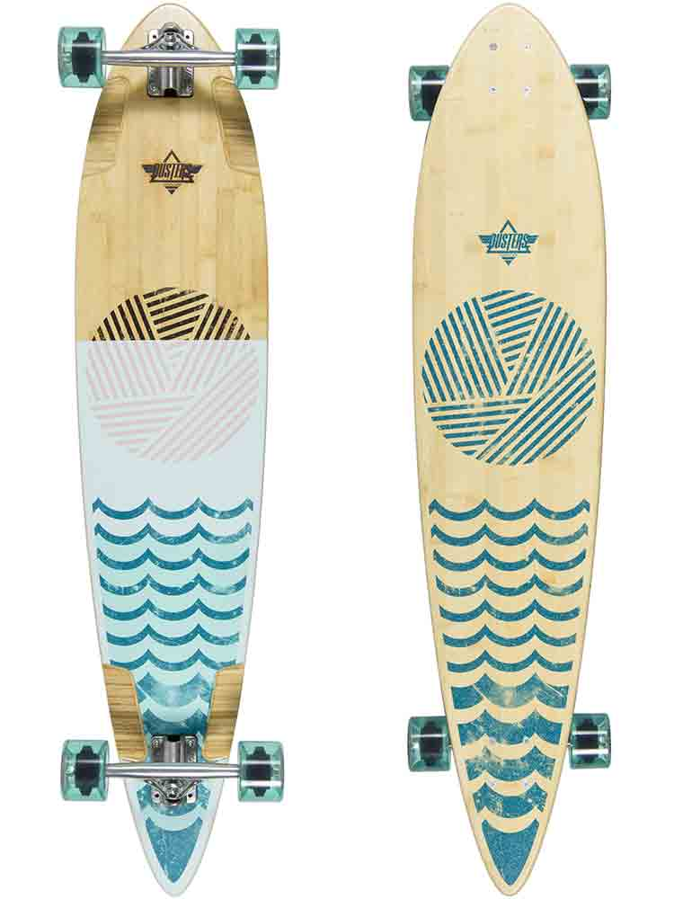 Ripple Pintail Longboard