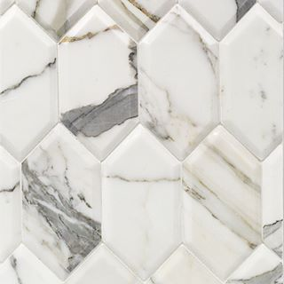 Calacatta Beveled hex