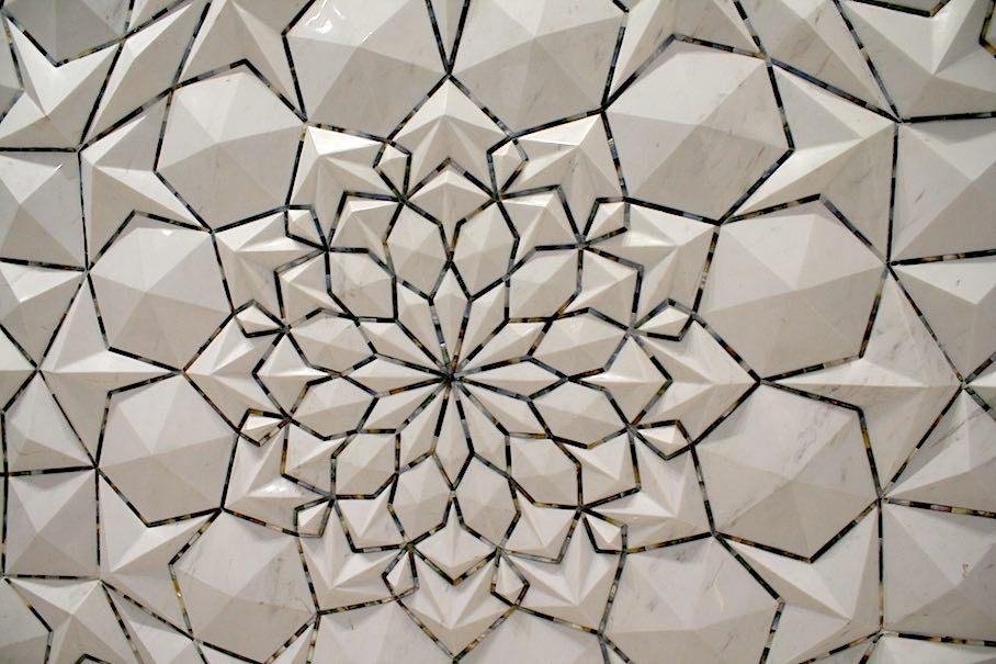 Historic Alhambra Palace Mosaics, Spain