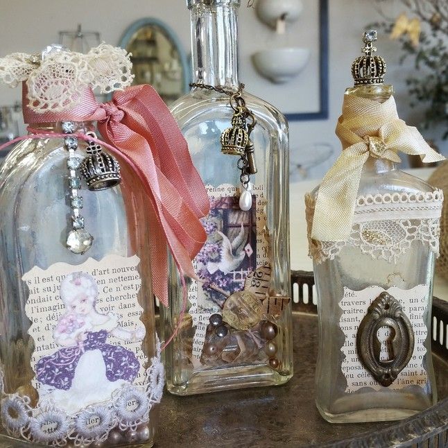 Altered Art Bottle Class