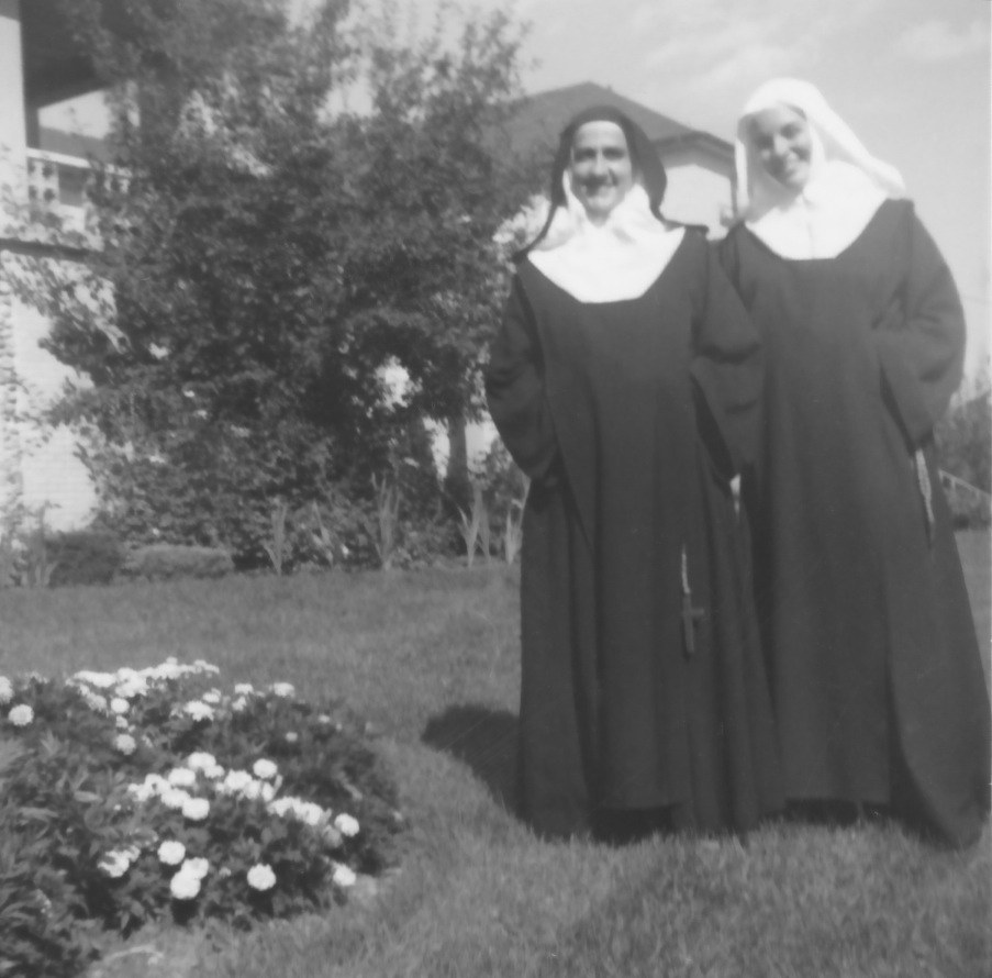 Sisters Theresa and Claudette