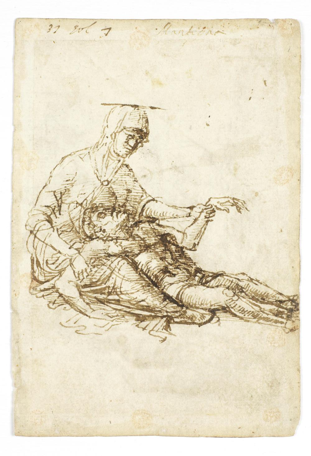 StudyforPieta,AndreaMantegna(ca1460, unpublished)