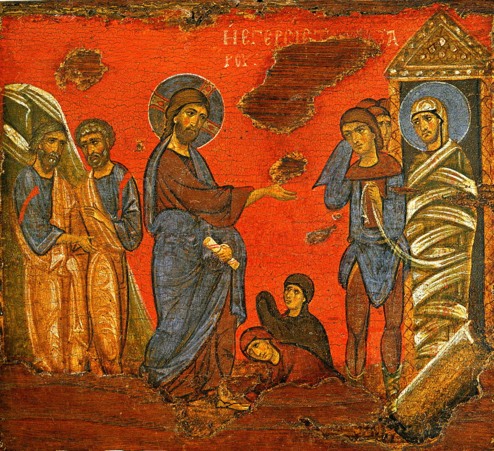 Lazarus (God is my help), (Russian Icon)