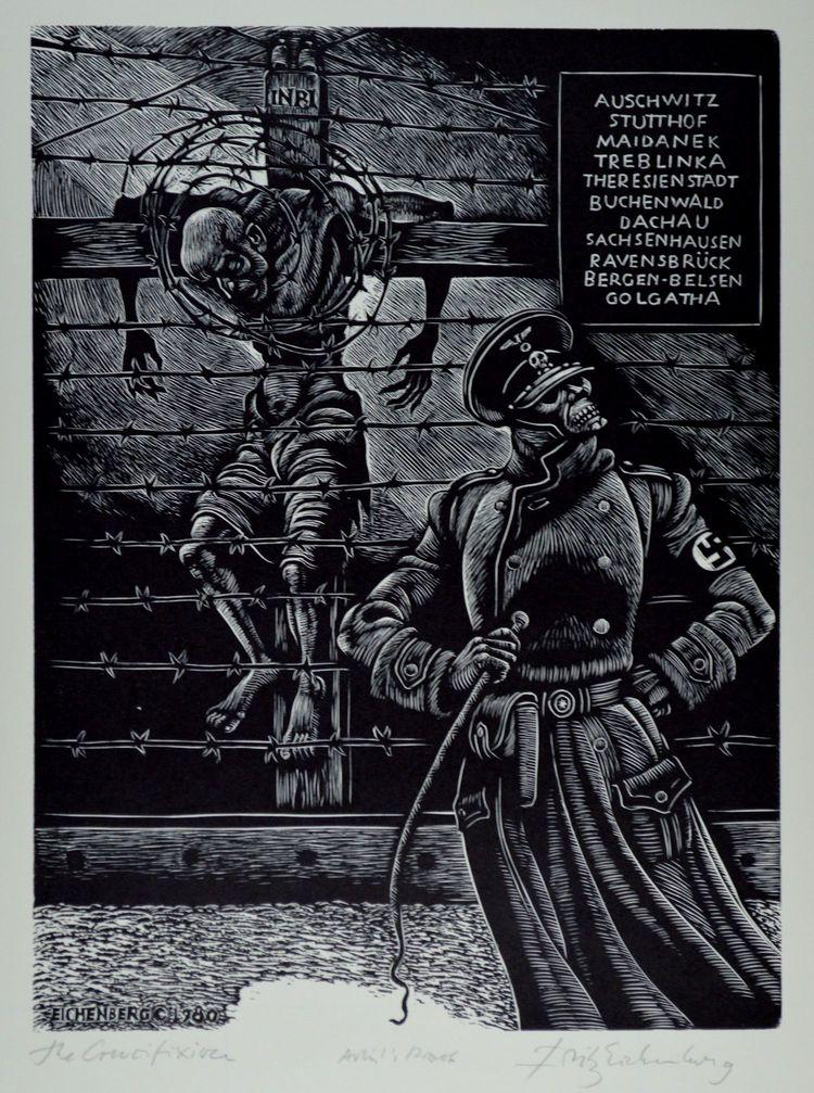 Fritz Eichenberg, The Crucifixion, 1980