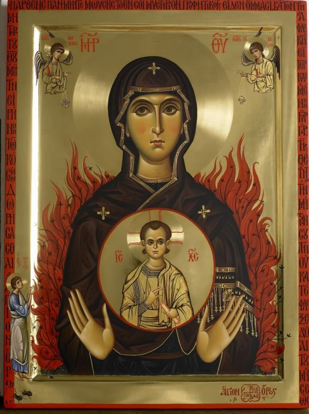 Theotokos of the unburnt bush