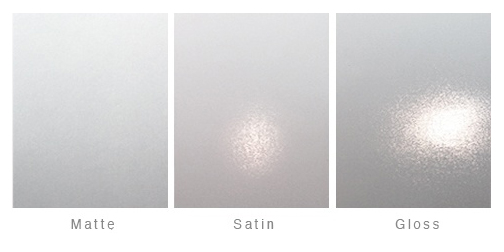 Matte to Gloss Photographic Paper