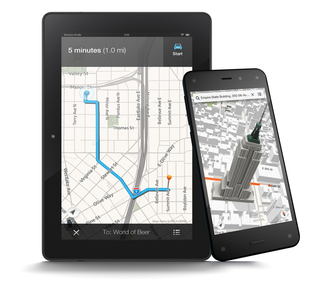 Amazon Maps for Fire