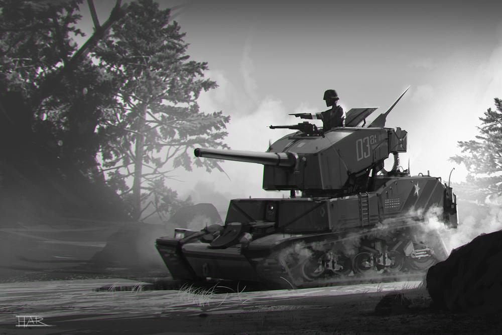 Tank War!