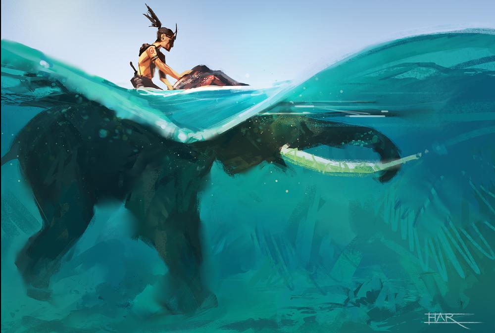 The Elephant Warrior