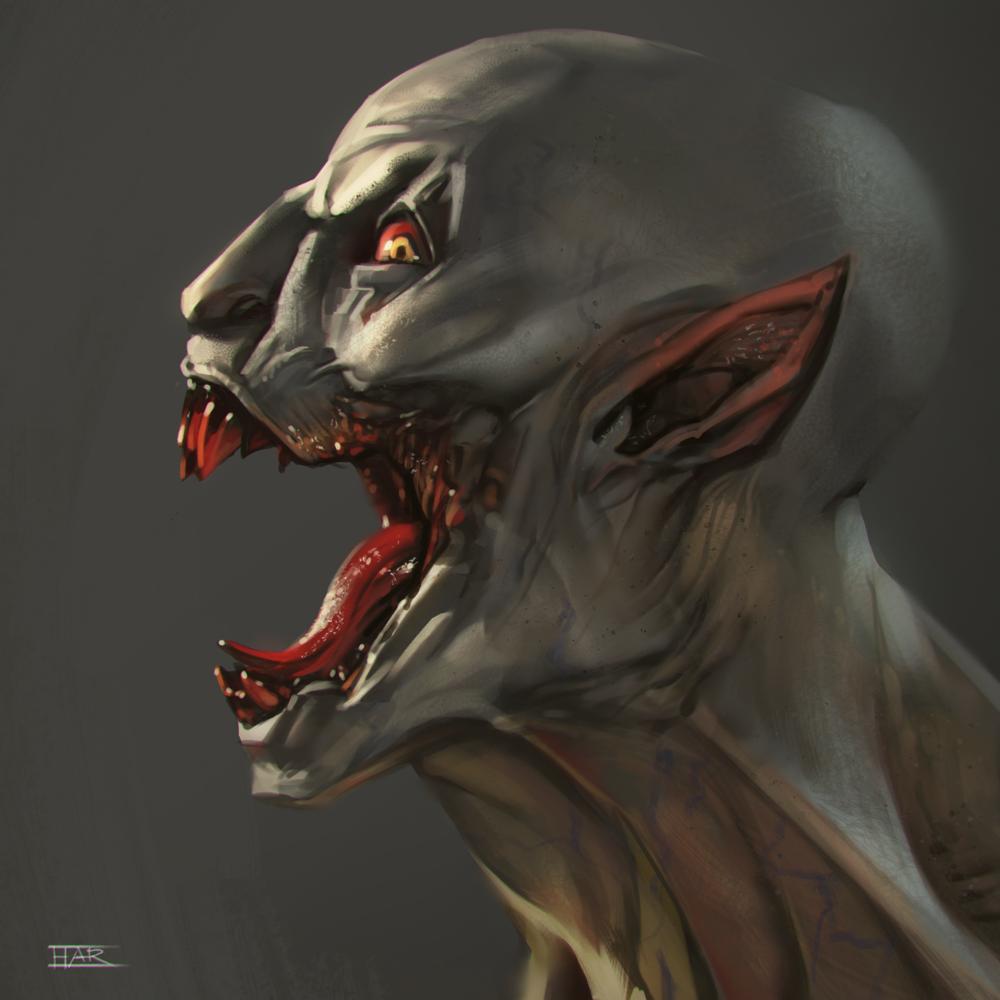 Vampire Head Study