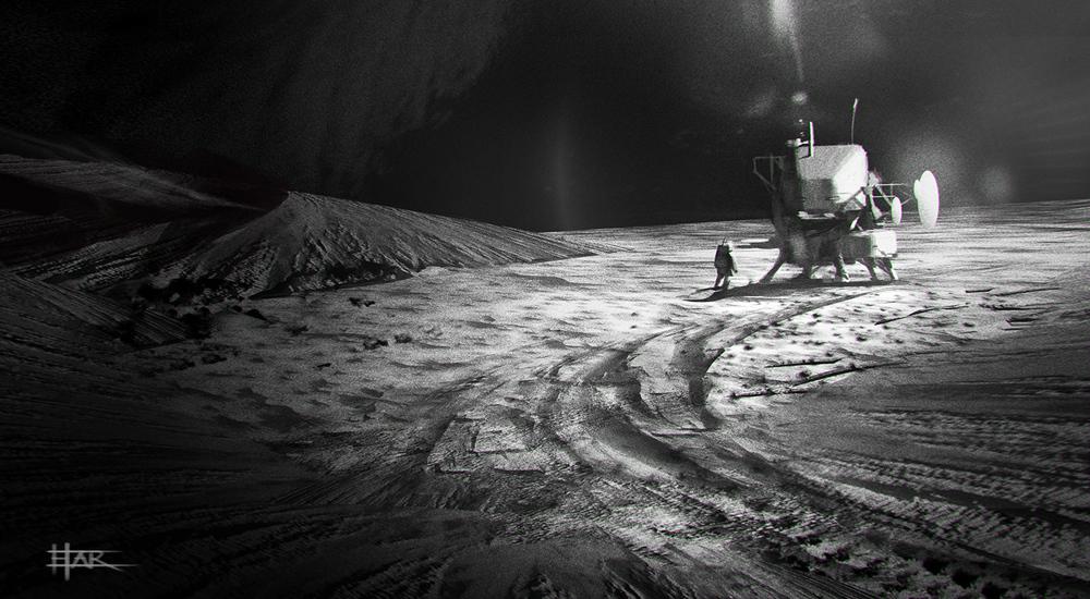 The moon lander