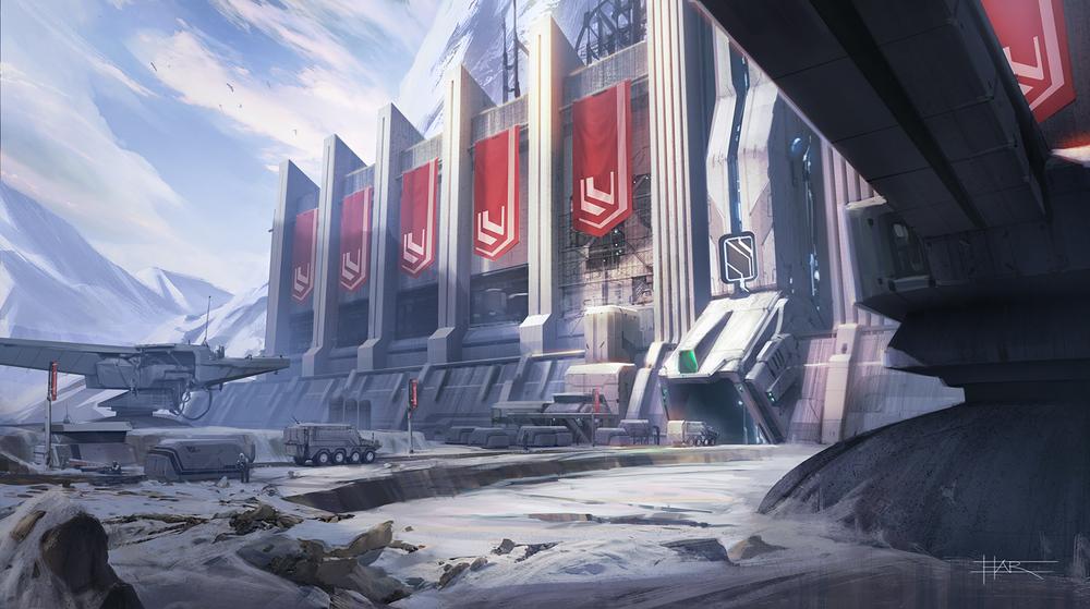 Snow Base Alpha