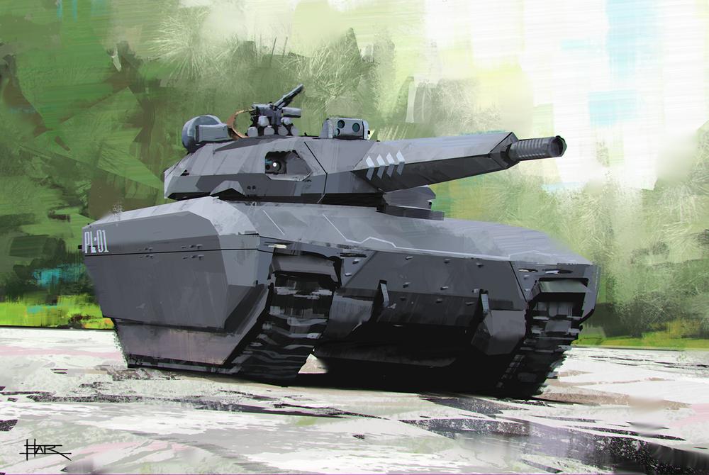 PL-01 Polish Tank