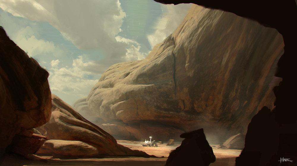 Roving the Terraformed Planet