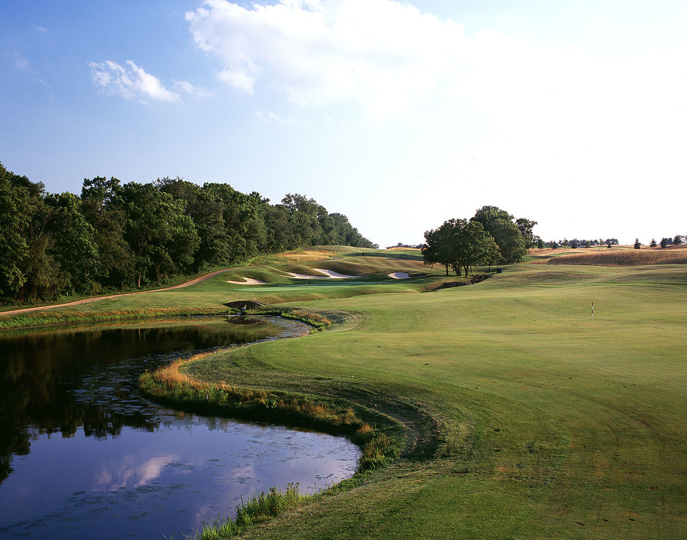 Hole No. 13: In the style of Alister MacKenzie
