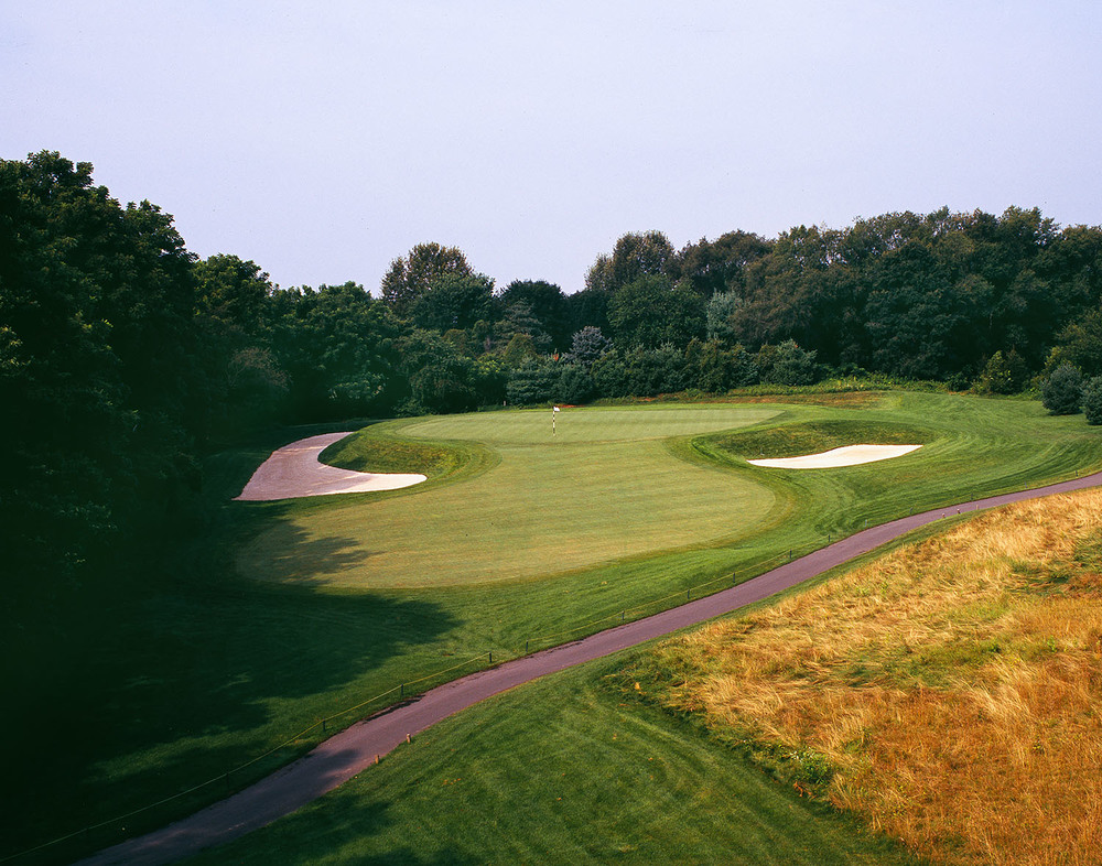 Hole No. 2: In the style of C.B. Macdonald