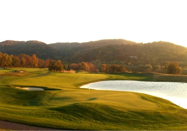 Hole No. 9: In the style of Donald Ross