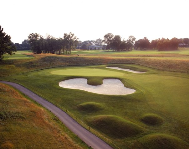 Hole No. 7: In the style of A.W. Tillinghast