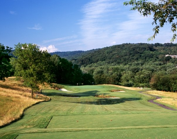 Hole No. 12: In the style of Charles Henry Banks