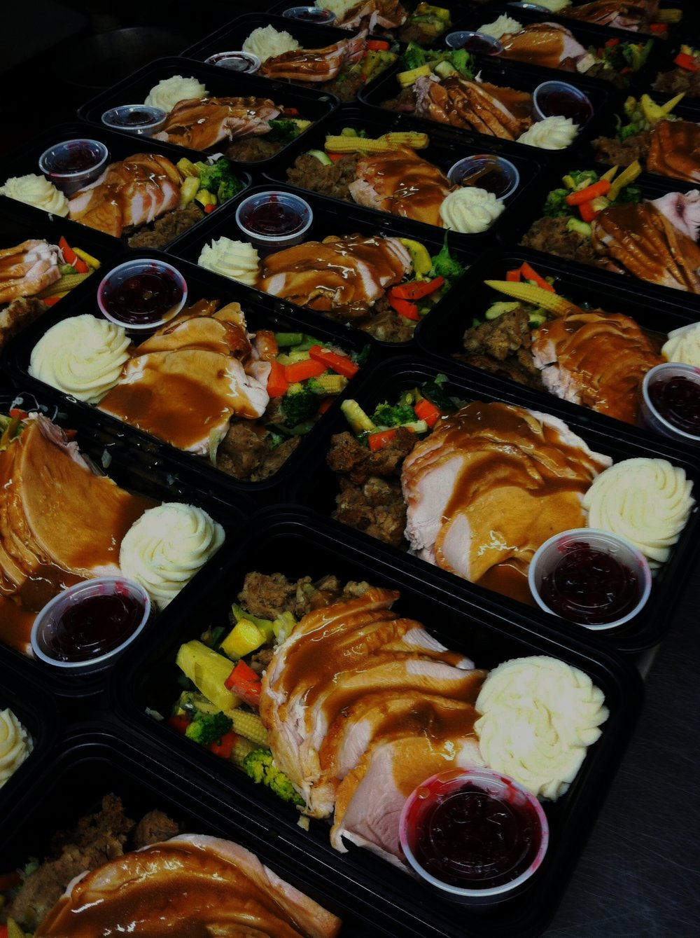 Thanksgiving Take Out - Place your order today for complete individual meals or family-style side dishes!