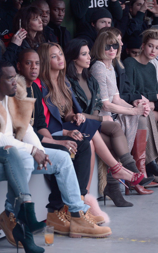 beyonce-jay-z-kim-kardashian-fashion-week-fall-2015