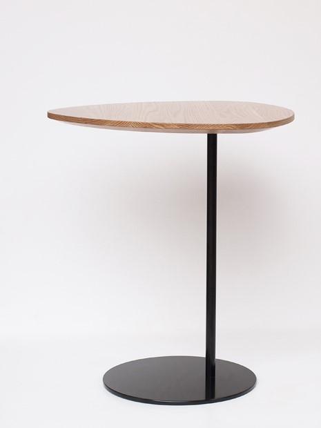 zoe high table black base