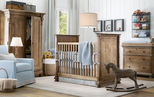 restoration hardware baby and child interior