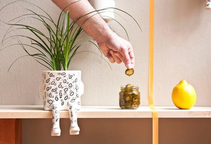 wacamole ceramics planters
