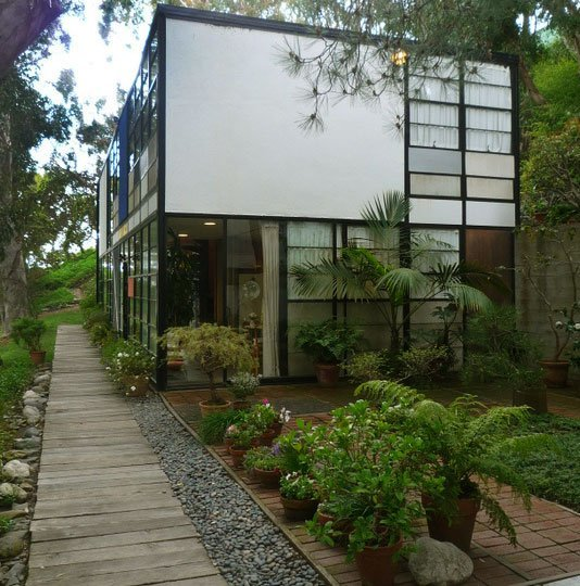 Former residence of designers, Charles & Ray Eames.