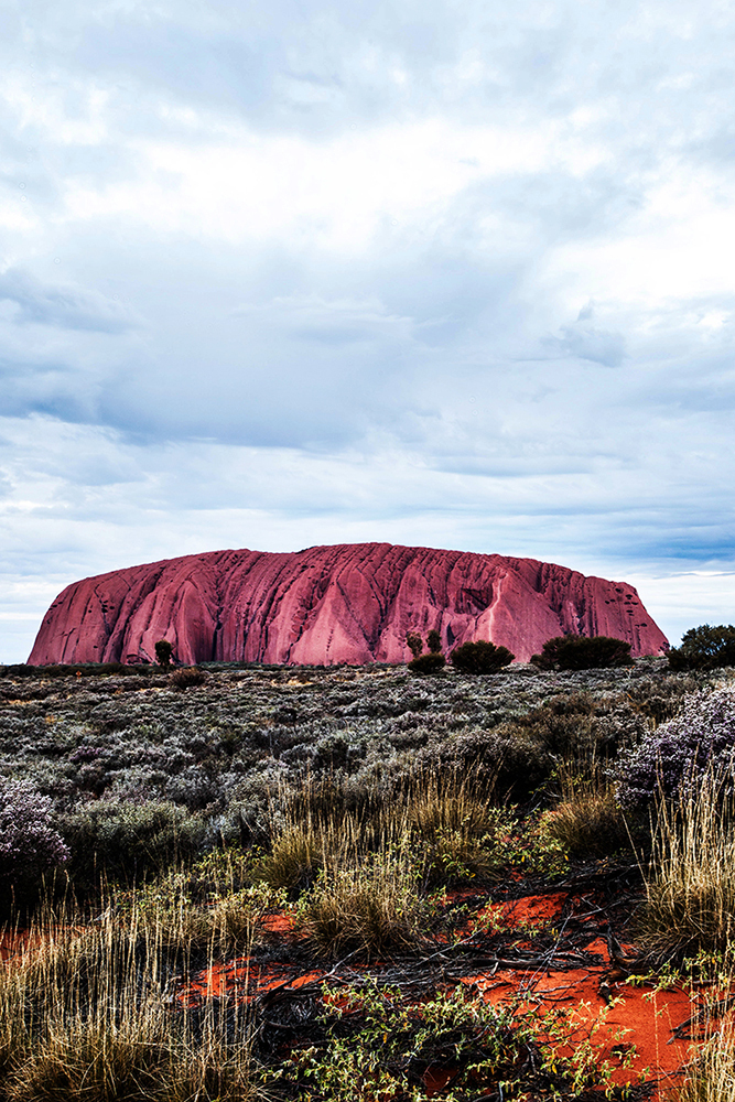 Uluru.